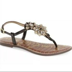 Sam Edelman Jeweled Sandal